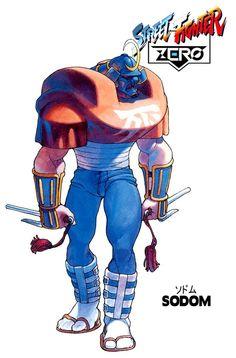 Street Fighter ZERO - Sodom