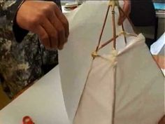 """2010 KidsFest launched with our first Lantern Parade from the Christchurch Art Gallery. Here's a """"How To"""" for making a lantern for yourself or for next KidsF. Paper Art, Paper Crafts, Lantern Designs, Diy Crafts To Do, Paper Light, Retro Lighting, 3d Studio, Paper Lanterns, Lamp Light"""