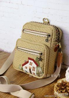 Patchwork Bags, Quilted Bag, Sacs Design, Japanese Bag, Denim Tote Bags, Back Bag, Bag Packaging, Purse Patterns, Fabric Bags