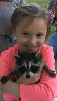 Timberlyn and her coon