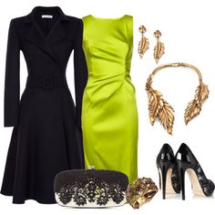 A fashion look from September 2013 featuring Oscar de la Renta dresses, Oscar de la Renta coats y Oscar de la Renta pumps. Browse and shop related looks.