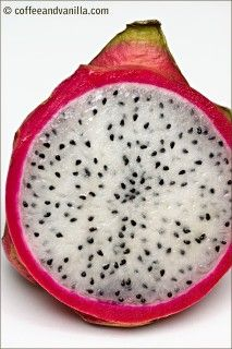 Dragon Fruit also called Fire Dragon Fruit, Strawberry Pear, Pitaya or Pitahaya is a fruit of few cactus species: Hylocereus undatus (Red Pitaya) has Cooking Recipes, Healthy Recipes, Healthy Foods, Dragon Fruit Pitaya, Raw Vegan, Harvest, Nom Nom, Clean Eating, Vanilla