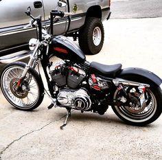 . Harley Davidson Iron 883, Harley Davidson Sportster 1200, Harley Bobber, Harley Bikes, Bobber Chopper, Harley Davidson Motorcycles, Hd Motorcycles, Bobber Bikes, Bobber Motorcycle