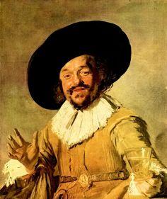 Frans Hals, self portrait
