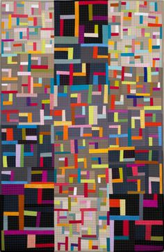 'Gradations III' by Robyn Croft. 2nd place award. Auckland Quilt Guild. 2014 Festival of Quilts