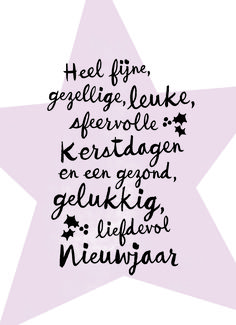 Kerstkaart - kerstster-tekst-hip - Apocalypse Now And Then Christmas Text, Diy Christmas Cards, Xmas Cards, Christmas Holidays, New Year Wishes Quotes, Quotes About New Year, Christmas Quotes, Happy Birthday Wishes, Christmas Wishes