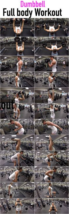 I have put together a full body workout that uses only dumbbells!