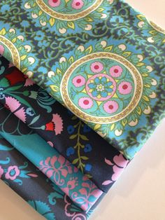 SALE Amy Butler Mini Bundle in Blues by Free by fabricshoppe