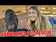 RESCUING AN ABANDONED MINI PIG! - YouTube