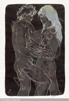 Hans Erni - Adam und Eva