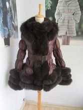 popular lady size style D15 down down jacket with fur  Best Buy follow this link http://shopingayo.space