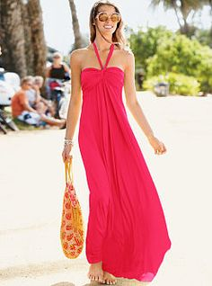 The secret to beach chic? The Maxi Bra Top Dress from Victoria's Secret. All our bra top dresses feature a built-in bra for superb support and come in lots of sexy styles, from strappy to strapless, sequined to beaded.