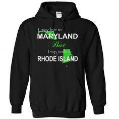 I Love 043-MARYLAND Shirts & Tees