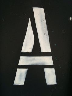 A | via The Journal of Urban Typography
