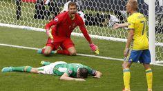 Euro 2016 - Republic of Ireland v Sweden: O'Shea misses glorious chance