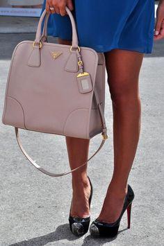 Prada purse, Louboutin shoes :)