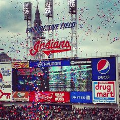 Cleveland Indians Home Opener
