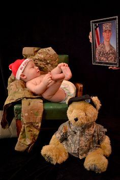 A Christmas Present for a Daddy serving in Afghanistan