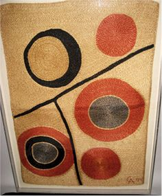 If only. Calder woven tapestry.