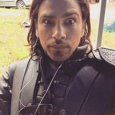 The Musketeers - Series III BtS filming via Luke Pasqualino's Instagram '4 episodes of #TheMusketeers down...6 to go!!' #ObligatorySelfie