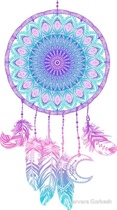 Hand drawn native american indian talisman dream catcher with mandala round pattern, feathers, moon. vector hipster illustration isolated on white. New Wallpaper Iphone, Cellphone Wallpaper, Galaxy Wallpaper, Wallpaper Backgrounds, Trendy Wallpaper, Mandala Art, Mandala Drawing, Mandala Wallpaper, Dreamcatcher Wallpaper