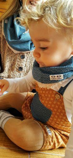 Peto y cuello bebé LAPÁN LAPÁN. Esto y más en www.lapanlapan.es