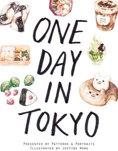 'One Day in Tokyo' Zine by Justine Wong @justinew