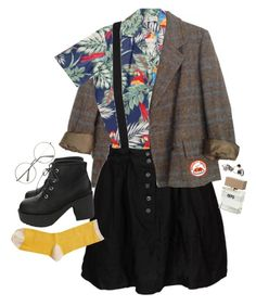 childhood by illyngophobia on Polyvore featuring polyvore, fashion, style, Marc by Marc Jacobs, Something Else, Hansel from Basel, Made Her Think, Bella Freud and clothing