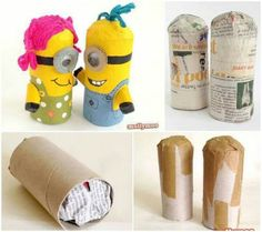 Addicted to them ! Easy way to create Minions <3