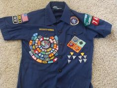 Cub Scout Badge placement