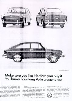Volkswagen Ad - Make Sure