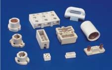 Porcelain Ceramic Parts  #PorcelainCeramicParts   We Offers parts from porcelain, Steatite, Cordierite, Porcelain, Cordierite Refractory, Alumina Refractory and high Alumina of different grades.  Our range Porcelain Parts Ceramic Parts included Lamp holders, HRC Fuses , LT / HT insulators , Band Heaters parts, Capacitors Bushes, Capacitors Bushings, Thermostat parts etc.