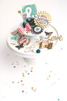 Maggie Holmes Confetti Products for Crate Paper