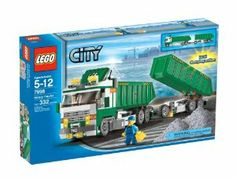LEGO Heavy Hauler by LEGO. $126.19. The Heavy Hauler is on the move again.  Load it up, attach the trailer and watch it rumble off to its next destination.. Big and impressive model with lot¿s of functions. 332 pieces. Tip the truck back to unload the cargo - dual dumping action - and start again.. Total length:  20 in. / 50.8 cm.. From the Manufacturer                LEGO® City Heavy Hauler (7998)                                    Product Description                Lo...