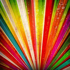 """Cuadro estilo vintage titulado: """"Full Color Vintage"""". Su explosión de colores no dejan indiferente a quien lo observe!"""