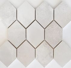Benetti Blanc Honed Mosaic 310x330x10mm | edgetilestone