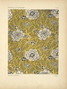 Pattern:Soie tissée d'or et d'argent.  ***Additional Name(s)  : Verneuil, M. P. (Maurice Pillard), 1869- -- Author                   ([1926])