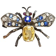 Great Victorian Butterfly Brooch   From a unique collection of vintage brooches at https://www.1stdibs.com/jewelry/brooches/brooches/