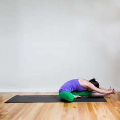 Yoga Poses That Banish Stress: Head to Knee Pose