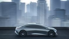 Virtual environment concepts created for the 2021 Mercedes-Benz EQS electric full-size luxury sedan by Siren Forever. See more at www.sirenforever.com - #mercedesbenz #eqs #electric #concept #rendering #c4d #electric #electriccar #luxury #sedan #sirenforever #mb #benz #bladerunner Environment Concept, Electric Car, Blade Runner, Mercedes Benz, Luxury