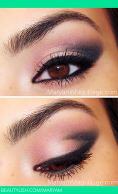 Dusty Rosé Smokey Notte | Maryam M. 's (Maryam) Foto | Beautylish