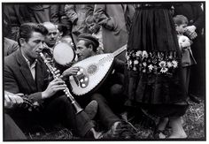 Musicians at a festival, Thessaly. 1964.  © Costa Manos/Magnum Photos
