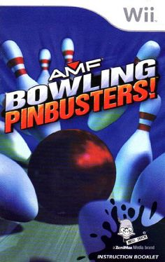 AMF Bowling - Pinbusters! Wii Instruction