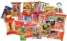JAPAN SHOPS Japanese Rice Crackers Senbei Mix 20 packs Made in Japan * Want to know more, click on the image.Note:It is affiliate link to Amazon.