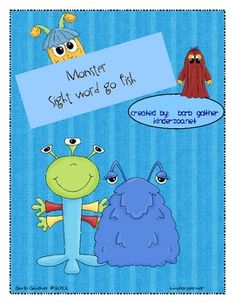 This go sight word go fish game would be a great supplement/addition to the Emergency Sub Planner for Jeepers Creepers.  The sub planner does not n...