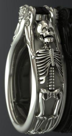 27 Inigualables accesorios que aumentarán tu fascinación por la muerte ⋮ Es la moda