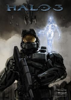 master chief and cortana | Master Chief Cortana