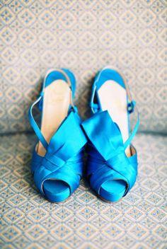 A bolt of blue: Christian Louboutin's electrifying platform heels (photography by www.desibaytan.com)