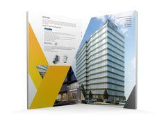 MEGA Tower brochure by Chinzorig Ishdorj, via Behance