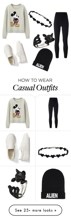 """casual outfit"" by nathalytr on Polyvore featuring Gap, Nicopanda, adidas Originals and Uniqlo"